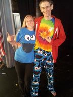 Cookie Monsters at the Burlington VT Contact Improv Dance Jam – Eva and Ian!
